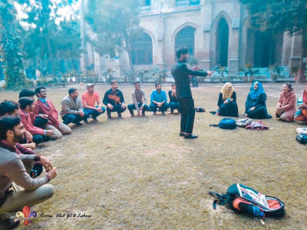 Scout Games, Survival Knots, and Lashing Activities | Rovers' Club GCU Lahore, Pakistan | Outdoors University | Scouts Pakistan